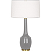 This item: Delilah Smoky Taupe Glazed Ceramic 34-Inch One-Light Table Lamp