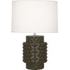 This item: Dolly Brown Tea Glazed Textured Ceramic One-Light Accent Lamp