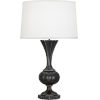 This item: Williamsburg Clementina Bronze One-Light Table Lamp With Ivory Silk Shade