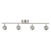 This item: Acadia Satin Nickel LED Track Light