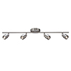 This item: Chappelle Satin Nickel Five-Inch Four-Light LED ADA Compliant Rail Light