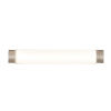 This item: Charlotte Satin Nickel 29-Inch LED Bath Vanity