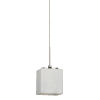 This item: Geo Satin Nickel 4000K 120V LED Mini Pendant with White Shade
