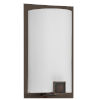 This item: Nolan Rubbed Bronze Seven-Inch One-Light Wall Sconce