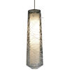 This item: Spun Satin Nickel 4000K 120-227V LED Mini Pendant with Smoke Shade