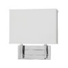 This item: Taylor Polished Chrome Two-Light LED Wall Sconce