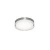 This item: Tribeca Satin Nickel 16-Inch LED Flush Mount