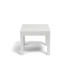 This item: Naples Frost White Outdoor End Table