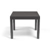 This item: Vegas Graphite 36-Inch Outdoor Dining Table