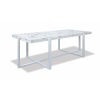 This item: Bazaar White 24-Inch Rectangle Coffee Table