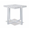 This item: Bazaar White 22-Inch End Table