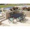 This item: La Jolla Espresso 72-Inch Rectangular Dining Table