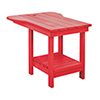 This item: Generations Tete A Tete Table-Red