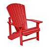 This item: Generations Adirondack Chair-Red