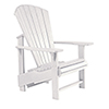 This item: Generations Upright Adirondack Chair-White