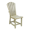 This item: Generations Dining Adirondack Style Side Chair-Beige