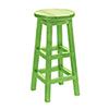 This item: Generations Kiwi Green Swivel Bar Stool