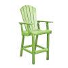 This item: Generation KiwiGreen Patio Pub Arm Chair