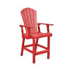This item: Generation Red Patio Counter Height Arm Chair