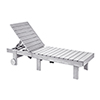 This item: Generations Chaise Lounge with wheels-White