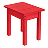 This item: Generations Small Side Table-Red