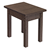 This item: Generations Small Side Table-Chocolate