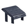 This item: Capterra Casual Atlantic Navy Outdoor Premium Footstool