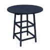 This item: Capterra Casual Atlantic Navy Outdoor Round Table Top
