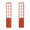 This item: Red 17-Inch Door Panel, Set of 2