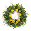 This item: Green and Yellow Seven-Inch Lemon Wreath
