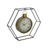 This item: Black and Gold Four-Inch Clock