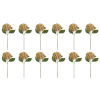 This item: Green and Pink Seven-Inch Hydrangea Stem, Set of 12