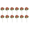 This item: Pink and Green Seven-Inch Hydrangea Stem, Set of 12