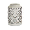 This item: Gray and Brown Eight-Inch Candle Holders