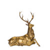 This item: Gold and Black Deer Figurine