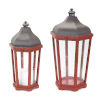 This item: Red and Purple Lantern, Set of 2