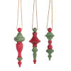 This item: Large Holiday Drop Ornament, Set of 6