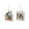 This item: Holiday Home Shadow Box Ornament, Set of 6