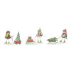 This item: Holiday Snow Bird with Sled Figures, Set of 3