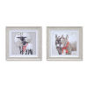 This item: Winter Donkey and Sheep Print, Set of 2