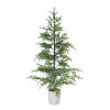 This item: Green and Brown 7 Ft. Potted Pine Tree