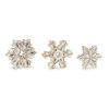 This item: Antique White Snowflakes, Set of 3
