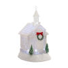 This item: LED Lighted Church Snow Globe