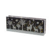 This item: Black and White Deer Rectangle LED Table Piece