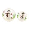 This item: LED Lighted Snowman Globe, Set of 2