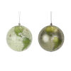 This item: Holiday Globe Ornaments, Set of 4