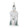 This item: White and Green 28-Inch Holiday Church with Light