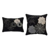 This item: Black and Gray Halloween Pillow, Set of 2