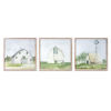 This item: Blue and Green Barn Print Wall Decor, Set of 3