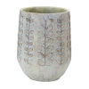 This item: Brown and White Pot, Set of 3